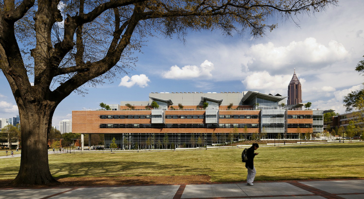 Georgia Tech, Living Building, sustainable campus, campus sustainability