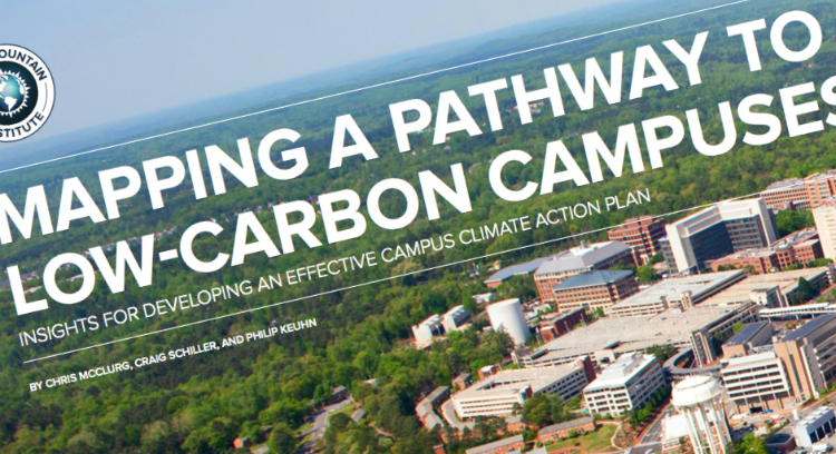 Mapping a Pathway to Low-Carbon Campuses, Rocky Mountain Institute