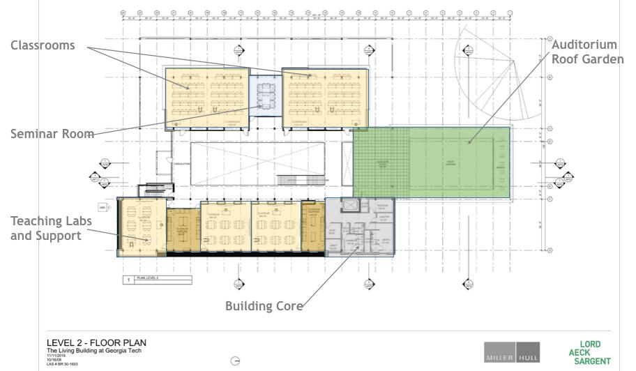 georgia tech living building schematic design floor plans
