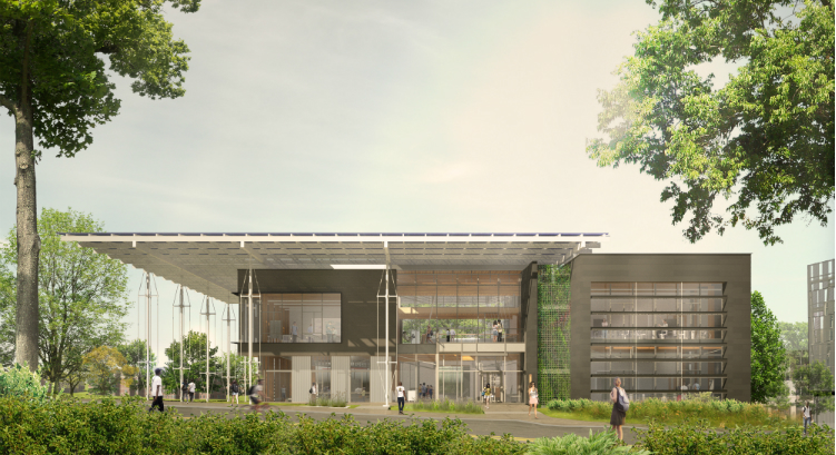 Georgia tech building takes shape in schematic design for Georgia builders