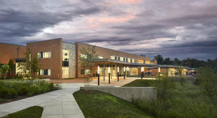 Disovery Elementary School, net zero school