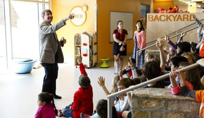 Wyck Knox, VMDO, Discovery Elementary School, net zero school, Lincoln Barbour