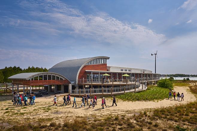 COTE, Brock Environmental Center, Chesapeake Bay Foundation, SmithGroup JJR