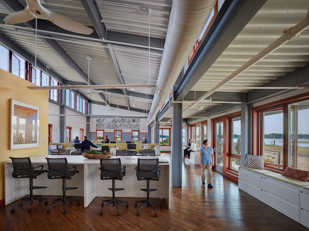 Brock Environmental Center, Chesapeake Bay Foundation, COTE, SmithGroup JJR,