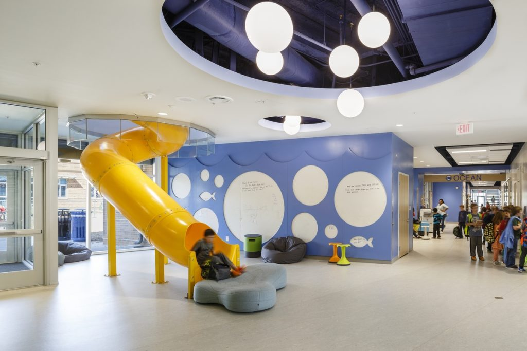 Discovery Elementary School, Arlington, VMDO, AIA, COTE, Lincoln Barbour