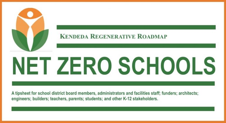 Regenerative Roadmap, Net Zero Schools