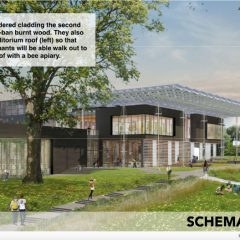Schematic design, Living Building at Georgia Tech