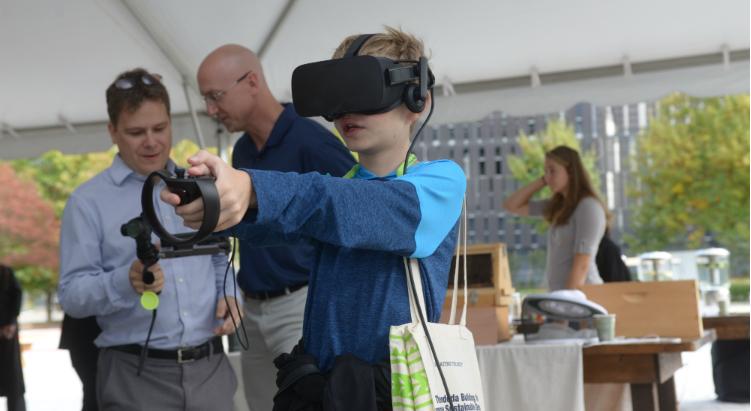 Virtual reality, John Taylor, Georgia Tech, Kendeda Building for Innovative Sustainable Design