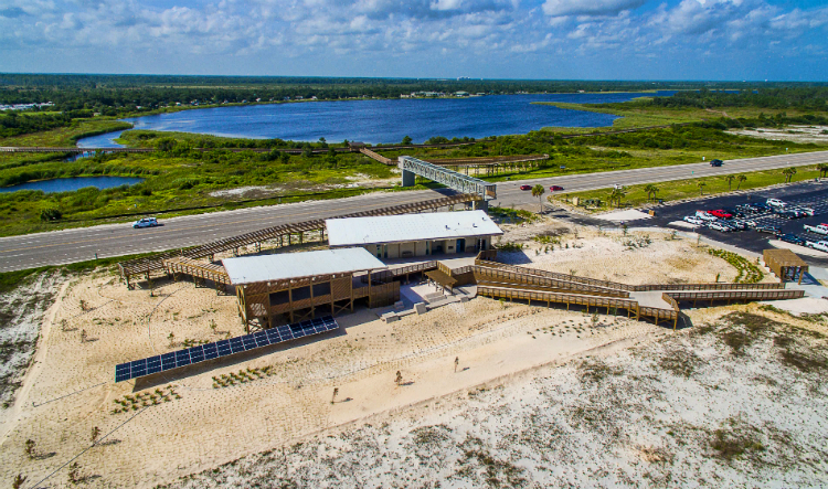 ArchitectureWorks, Gulf State Park, Living Building, Interpretive Center