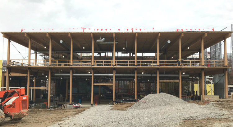 mass timber, Kendeda Building photo essay