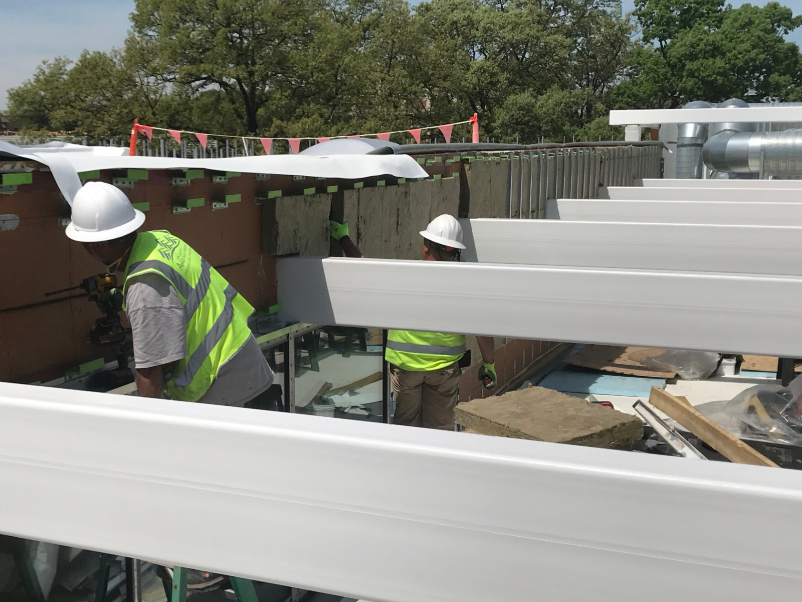 Living Building photos, Ochoa Construction, Thermafiber