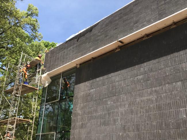 Living Building photos, Cronos Construction, Green Leaf Brick