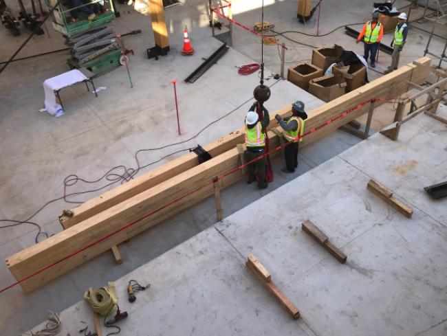 Living Future 2020, glulam, mass timber
